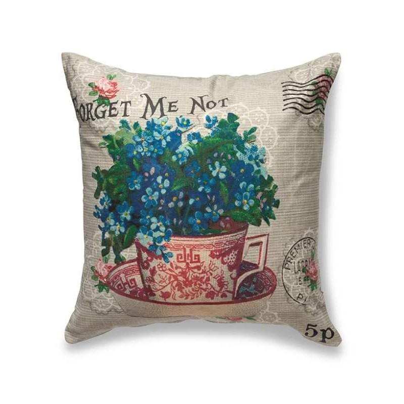 Throw Pillow, Natural Linen PrimaBambolina.com