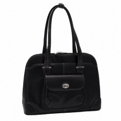 Avon Ladies' Briefcase Black Leather