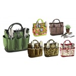 Garden Tote & Tools Set Red