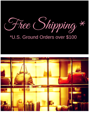 free shipping on orders over $100 - Prima Bambolina